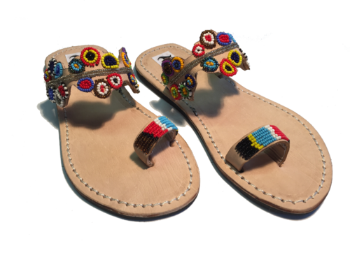 SANDALS ORIGINAL KENYA MODEL RAINBOW